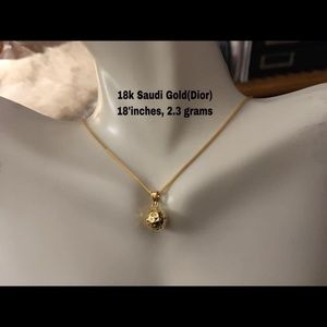 PRE ORDER- 18k Real Gold Necklace
